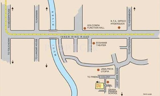 shiva-sai-residency Images for Location Plan of SYR Shiva Sai Residency
