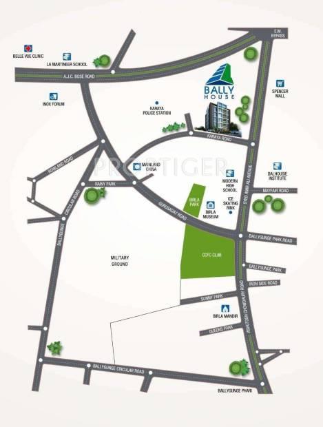 Nsi Group Bally House Location Plan