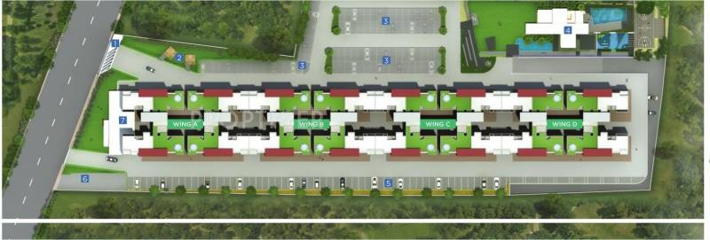Images for Layout Plan of Goyal My Home MH14 Punawale