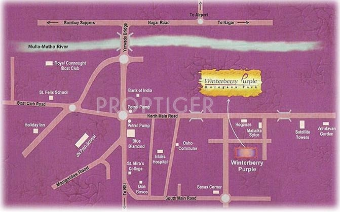 Images for Location Plan of Purple Properties Winterberry Purple