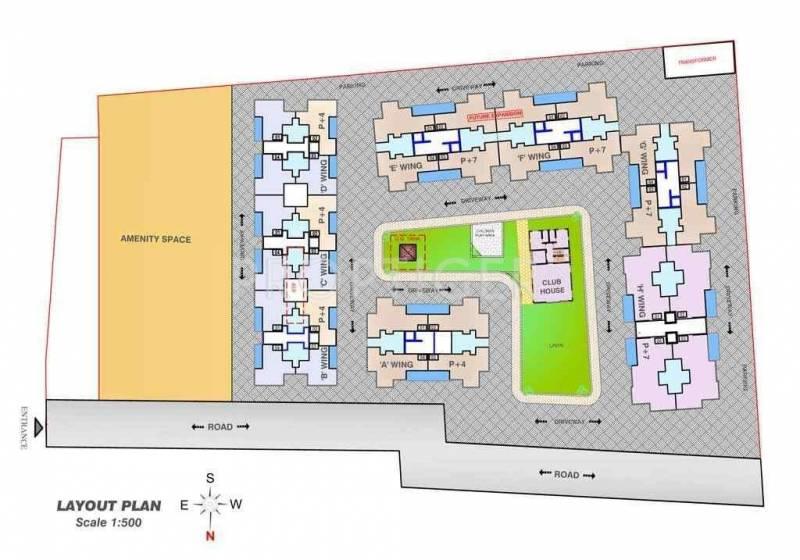 Images for Layout Plan of Dreams Rakshak