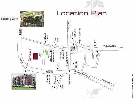 adi-emerald Images for Location Plan of Srinilaya Adi Emerald