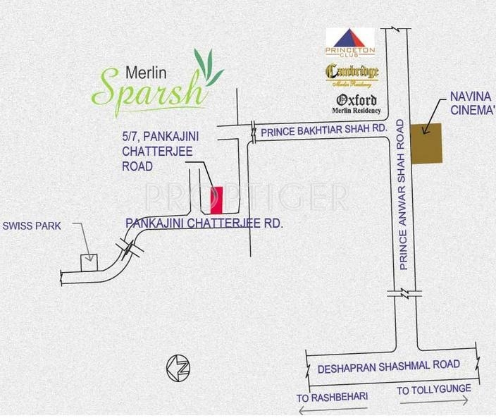 sparsh Images for Location Plan of Merlin Sparsh