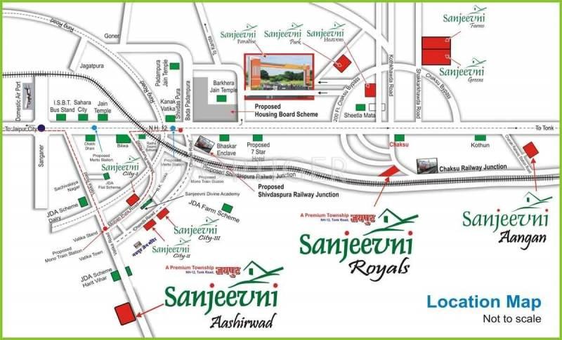 Images for Location Plan of Sanjeevni Aashirwad
