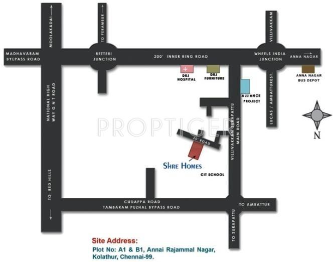 Images for Location Plan of Deva Shre Homes