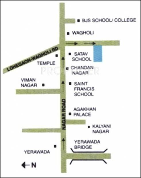 Images for Location Plan of Hindustan Supreme Aangan