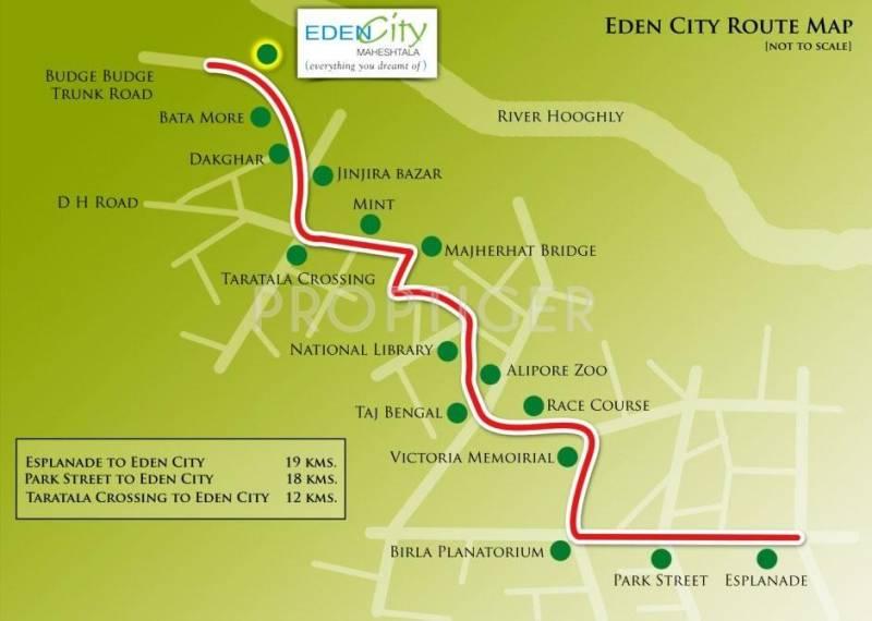Images for Location Plan of Eden City Group Eden City Maheshtala