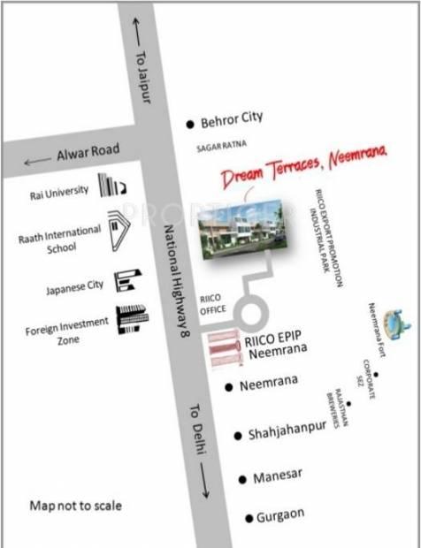 Images for Location Plan of Habitat Dream Terraces Floor