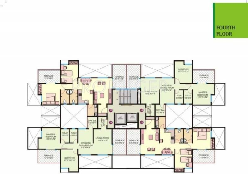 Images for Cluster Plan of ABC Elegance