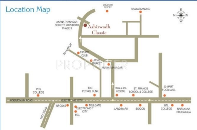 Images for Location Plan of Ashirwadh Classic