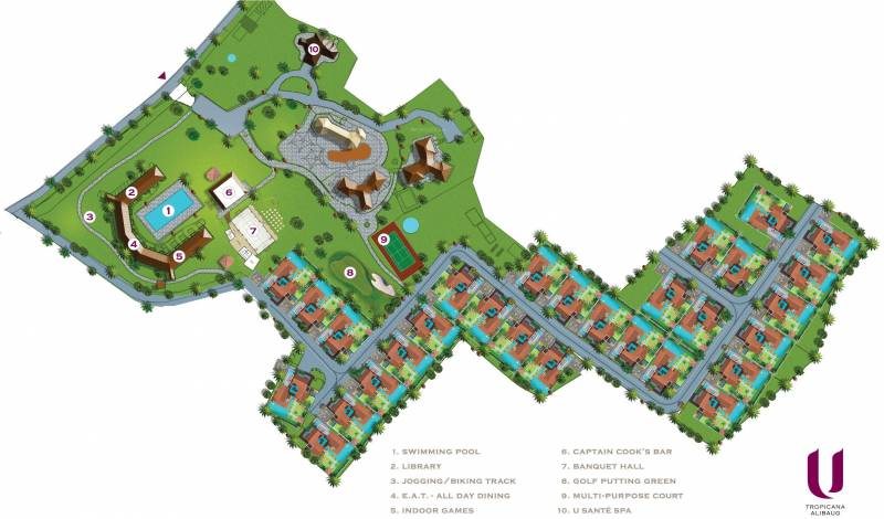 Images for Layout Plan of Tropicana Villas Phase 1
