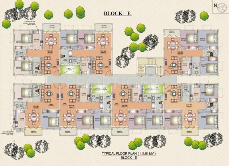 Images for Cluster Plan of Deva Travancore Residency