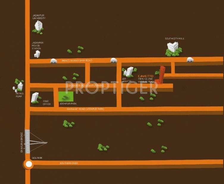 cavetto Images for Location Plan of Arihant Cavetto