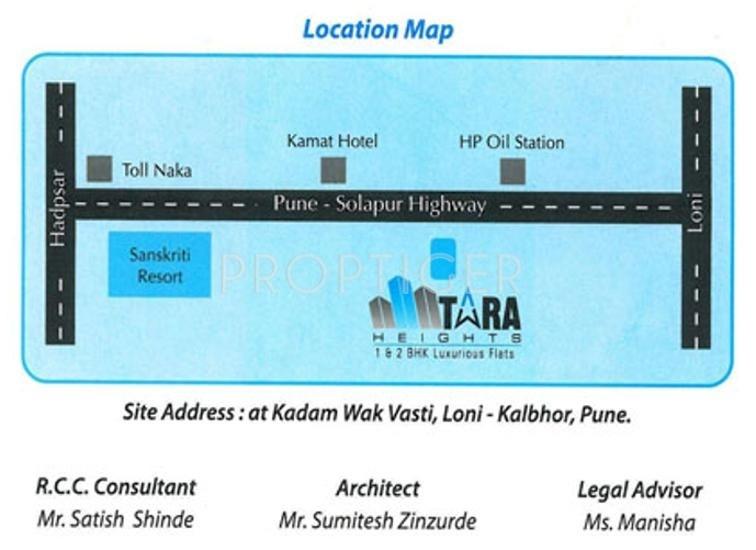 Images for Location Plan of Shivtara Properties Pvt Ltd Tara Heights