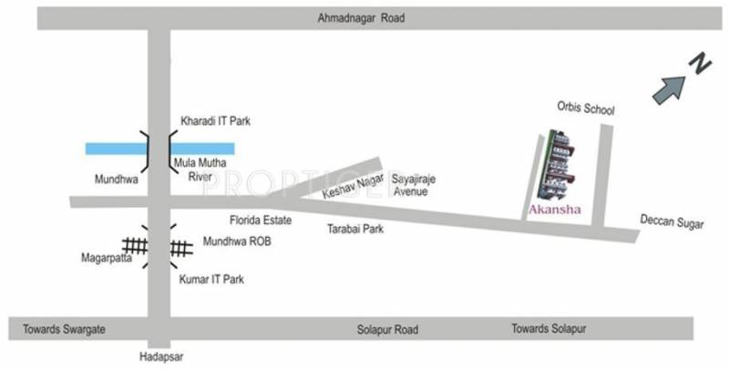 Images for Location Plan of Anandtara Construction Akansha