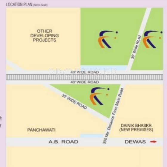 singapore-township-phase-i-plots Images for Location Plan of Sarthak Singapore Township Phase I Plots