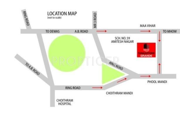 Images for Location Plan of Sarthak Singapore Grande
