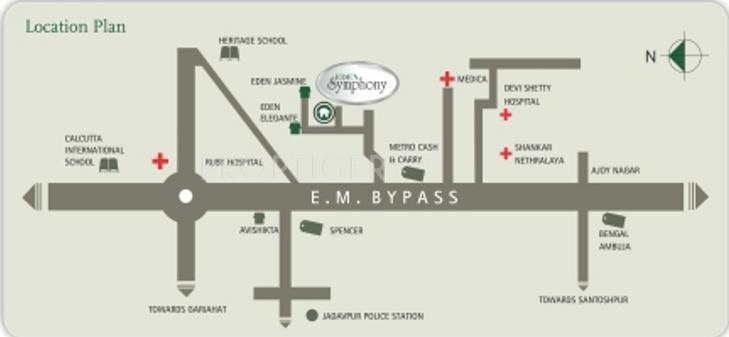 Eden Group Symphony Location Plan