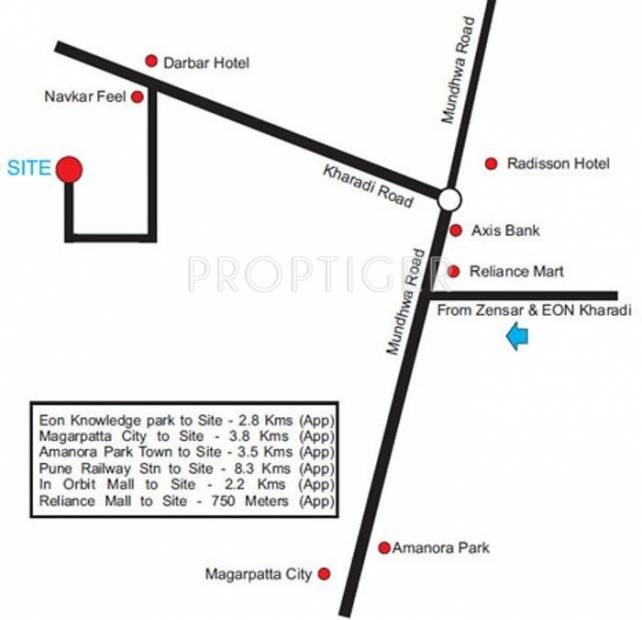 Images for Location Plan of Arun Sheth Anika Apartments