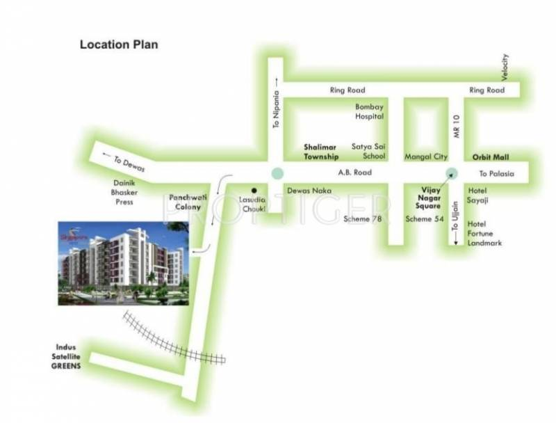 Images for Location Plan of Sarthak Singapore Nest