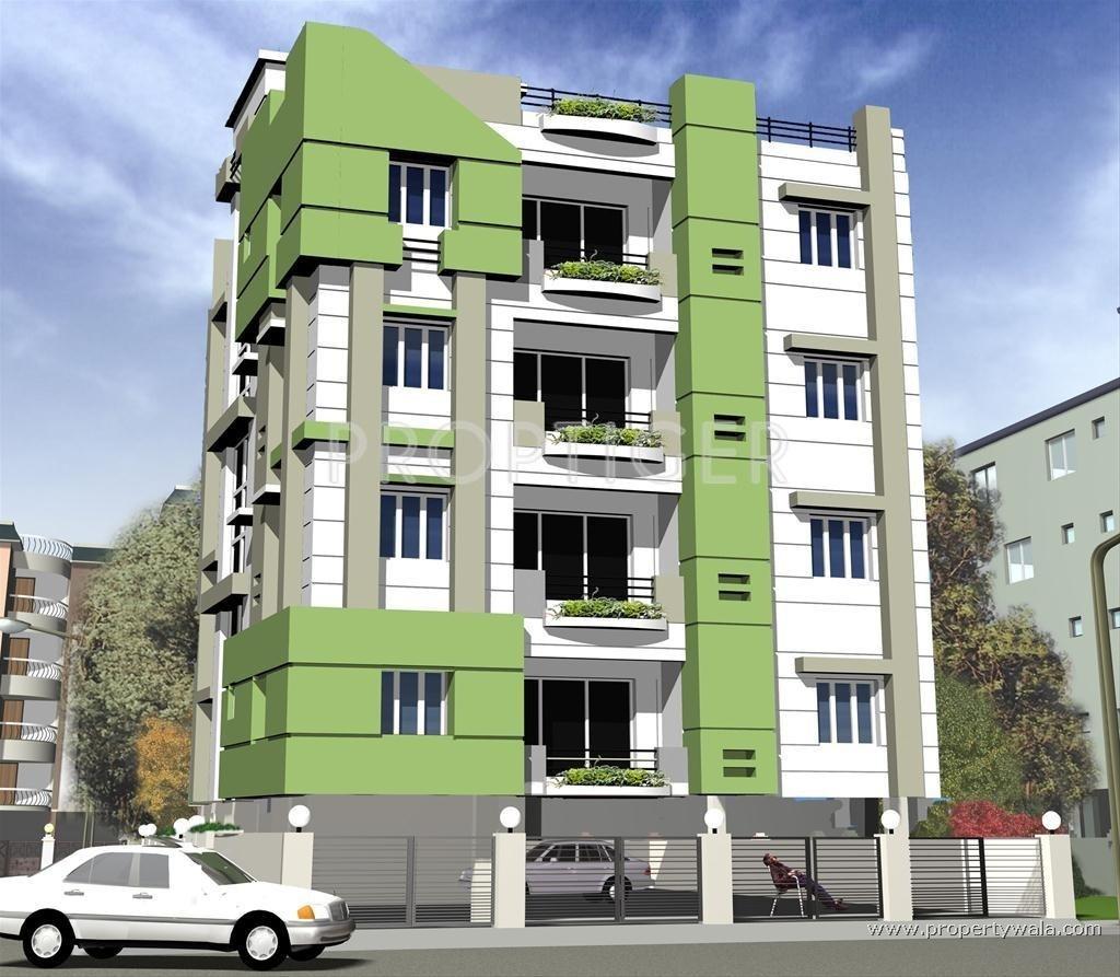 3 Floor Apartment Elevation : Hari bijan bhawan in ballygunge kolkata price location