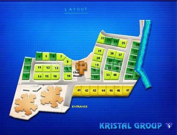 1842 Sq Ft 3 Bhk 3t Villa For Sale In Kristal Garnet