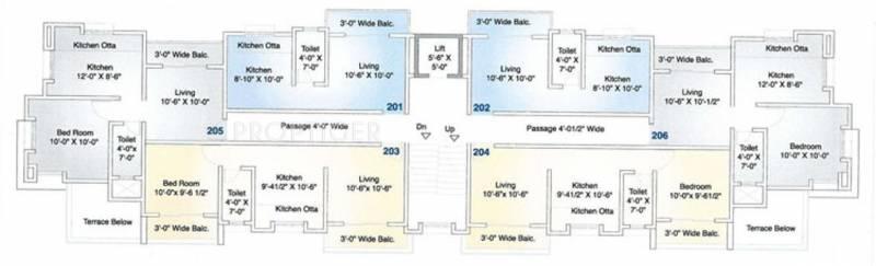 Images for Cluster Plan of Shivtara Properties Pvt Ltd Tara Aangan