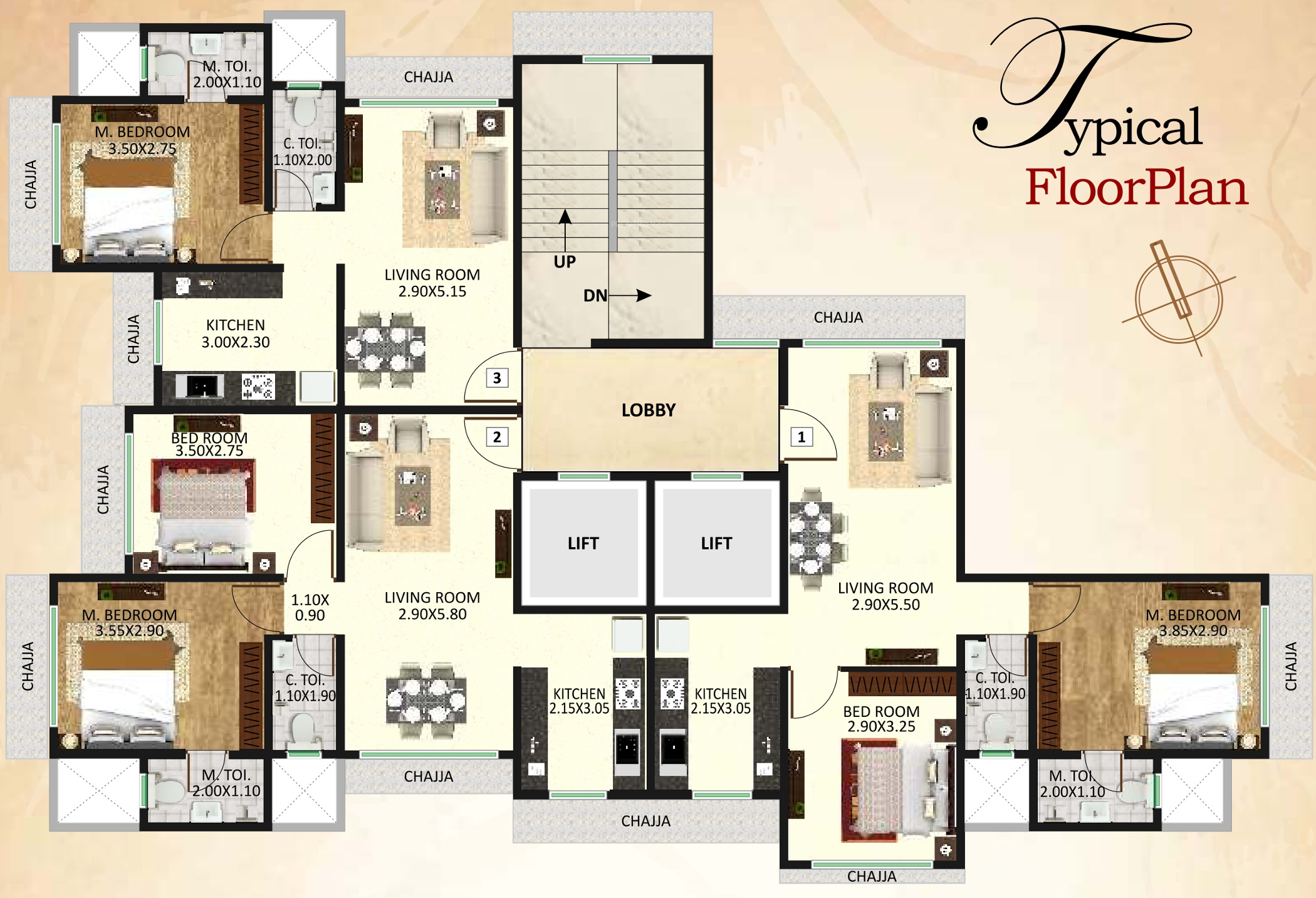 450 Sq Ft 1 Bhk 1t Apartment For Sale In Dgs Group Sheetal Om Jai Aradhana Malad West Mumbai