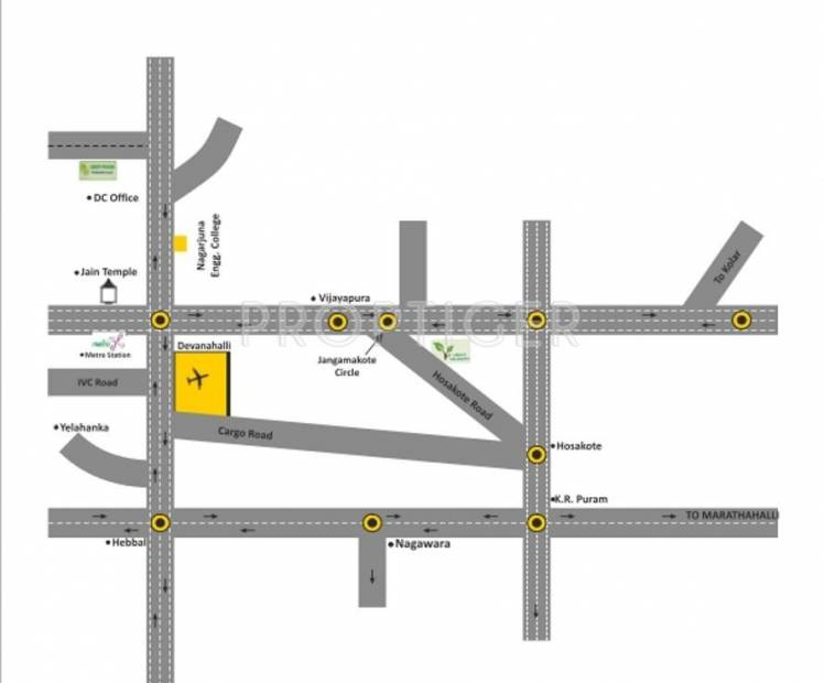 Images for Location Plan of Shubh Green Meadows