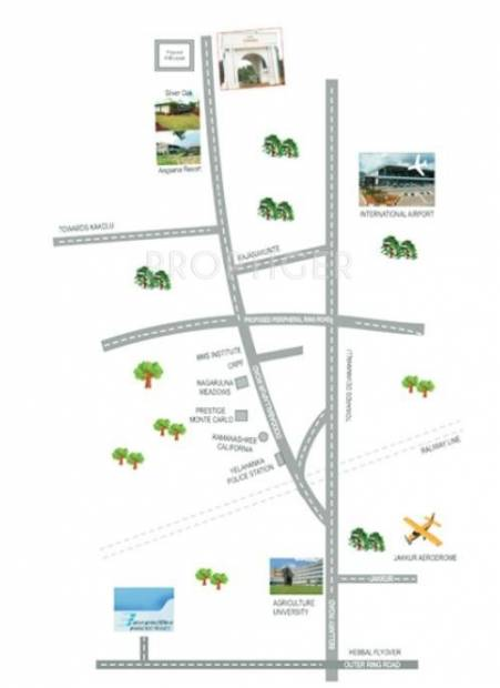 Images for Location Plan of Nysa Builders and Developers Gulmohar
