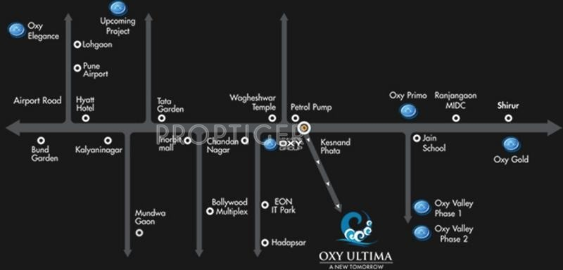 Images for Location Plan of Venkatesh Oxy Ultima