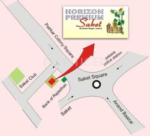 Images for Location Plan of Horizon Premium Saket