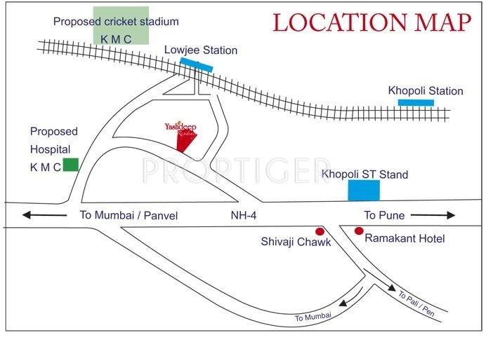Images for Location Plan of  Yashdeep Residency