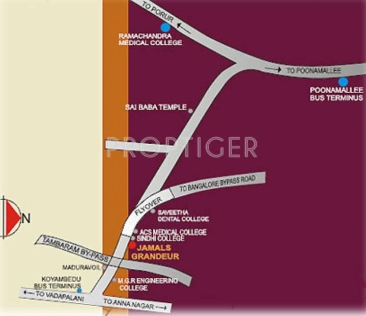 Images for Location Plan of Jamals Jamals Grandeur