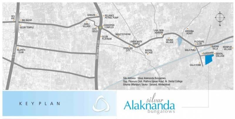 Suvas Group Silver Alaknanda Location Plan