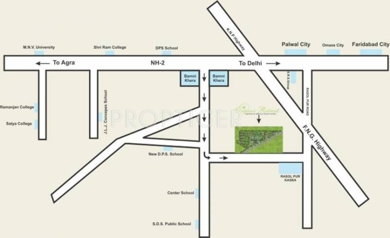 Images for Location Plan of Harbaksh Organic Retreat