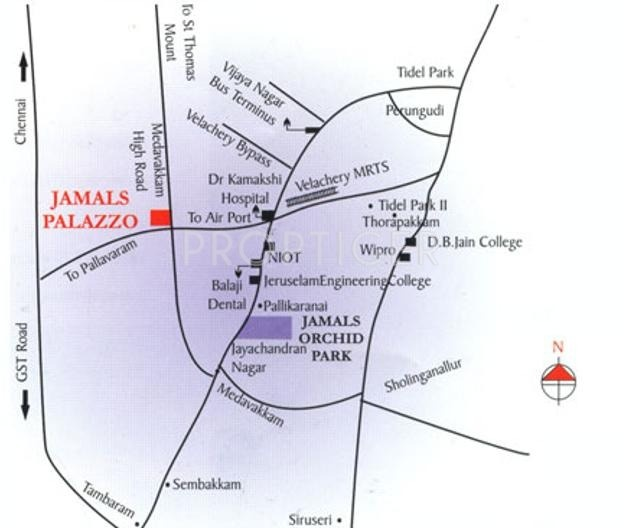 Images for Location Plan of Jamals Palazzo