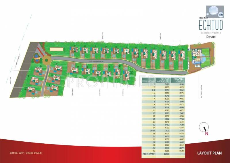 Images for Layout Plan of Maple Echtuo