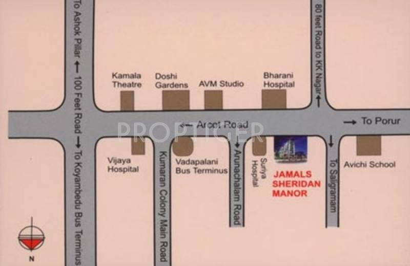 Images for Location Plan of Jamals Sheridan Manor