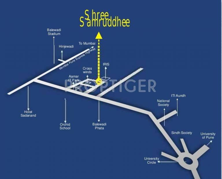 Images for Location Plan of Shree Group Samruddhee