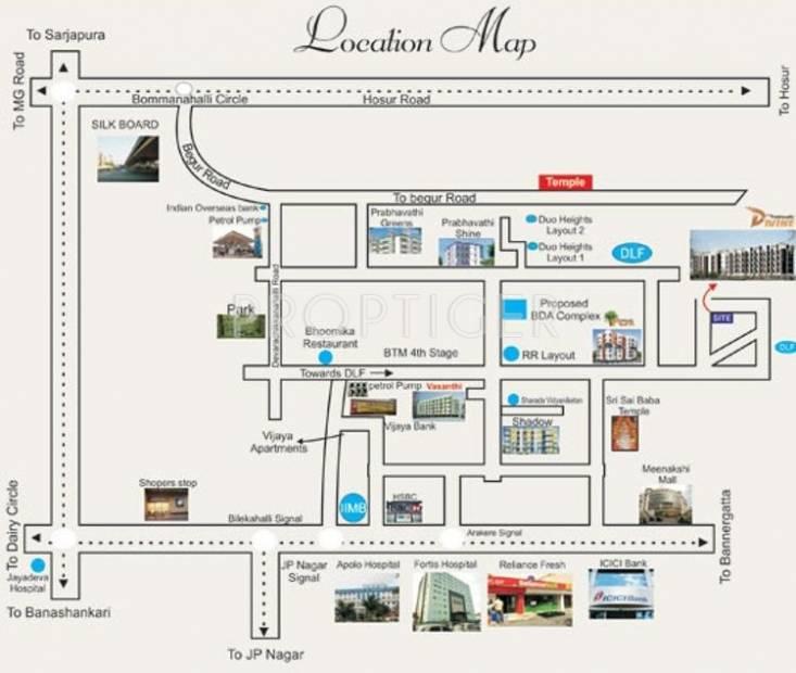 Images for Location Plan of Prabhavathi Divine