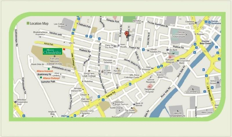 Images for Location Plan of Alliance Builders Chitralekha