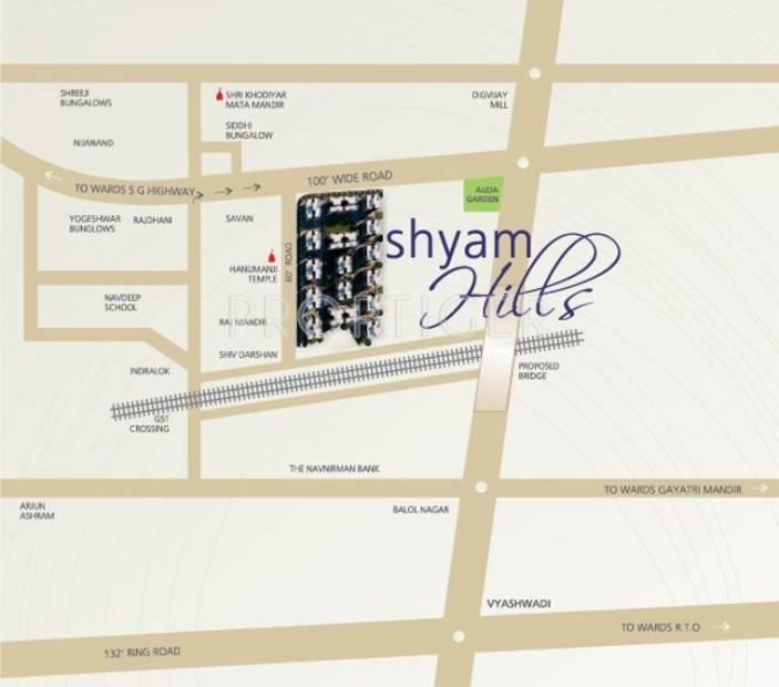 Images for Location Plan of Shri Shyam Hills