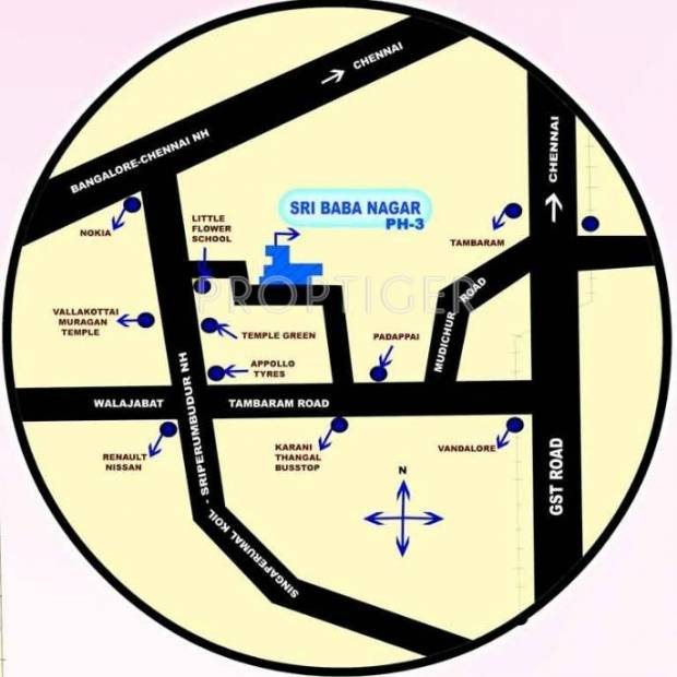 Images for Location Plan of Wisdom Sri Baba Nagar Ph 3