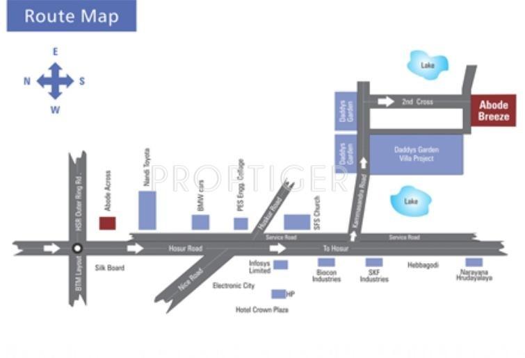 abode-breeze Images for Location Plan of Aishwarya Associates Abode Breeze