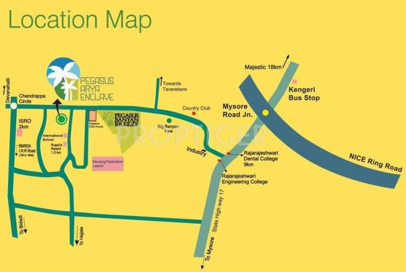 Images for Location Plan of Apna Sapna Pegasus Arya Enclave