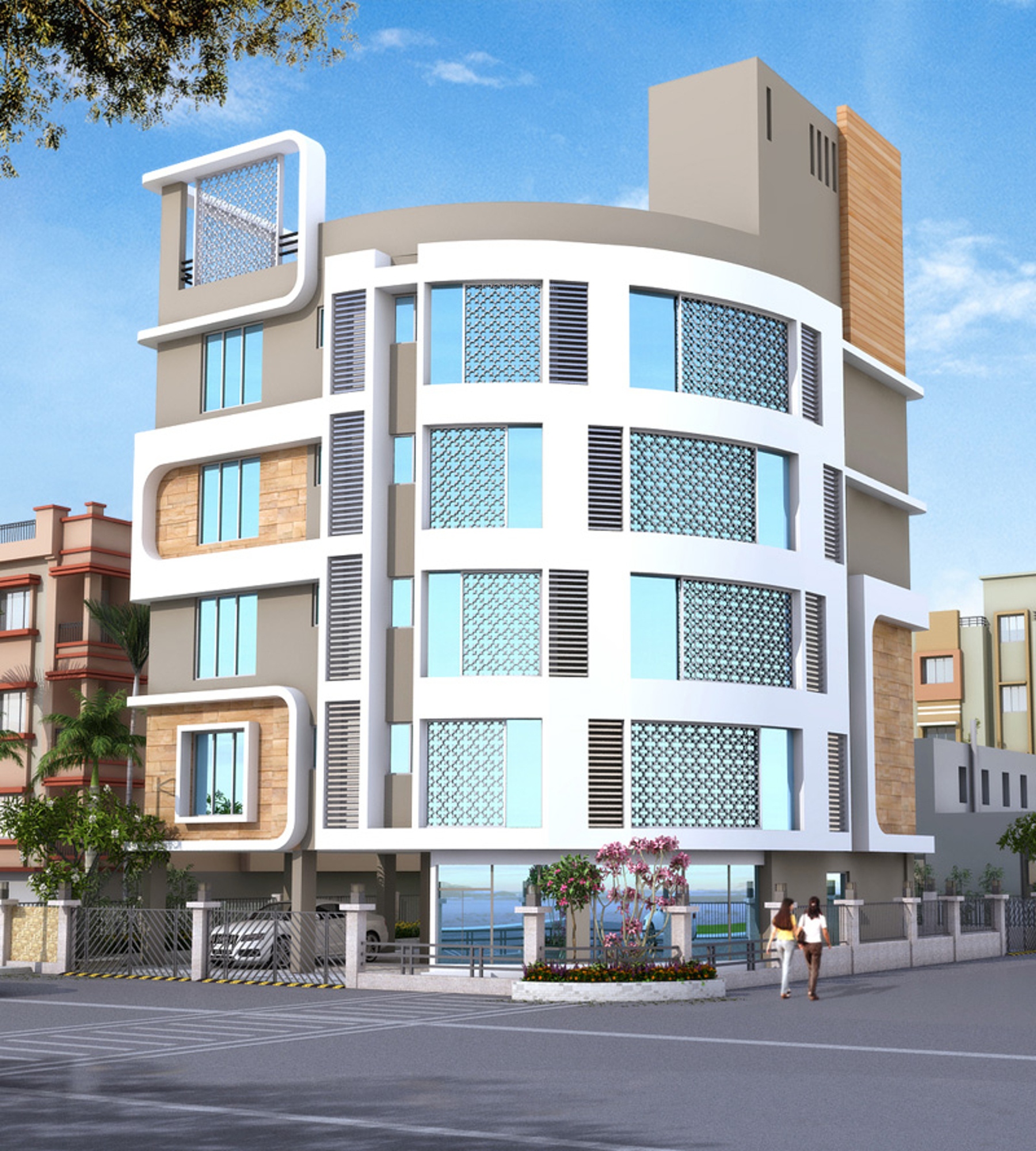 2 Or 3 Bhk Flat Interior Designing Cost In Kolkata: 1700 Sq Ft 3 BHK 2T Apartment For Sale In Swastic Group