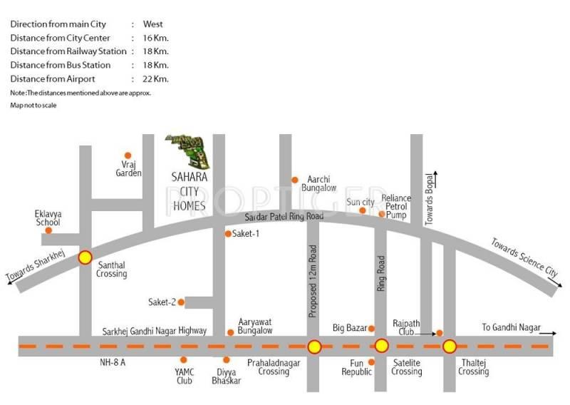 Images for Location Plan of Sahara Samatva Bunglow