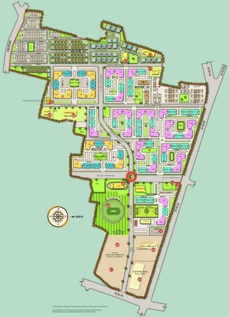Images for Master Plan of Sahara Samatva Bunglow