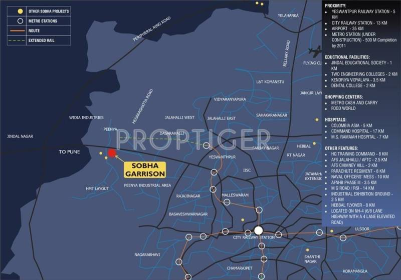 Images for Location Plan of Sobha Garrison